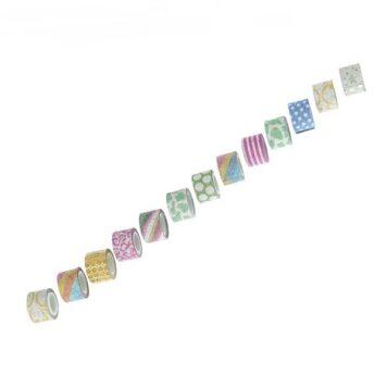 декоративные ленты на клейкой основе с рисунком блеск