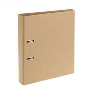 Папка-регистратор А4, крафт-картон