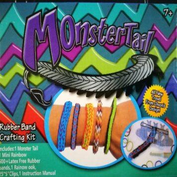 Набор для плетения браслетов «Monster Tail Rainbow» в коробке