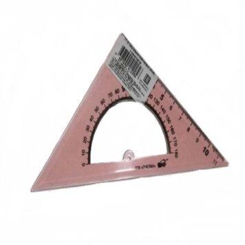 треугольник-линейка пластик