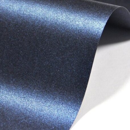 дизайнерский картон маджестик темно-синий блеск