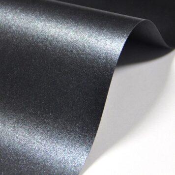 дизайнерская бумага маджестик антарацит