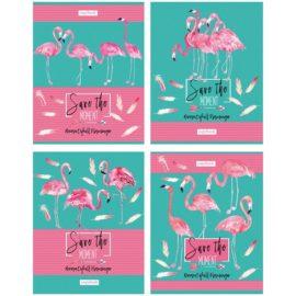 """Тетрадь 96 листов А5, """"Фламинго"""""""