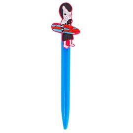 Ручка шариковая с клипом Зебра с серфом