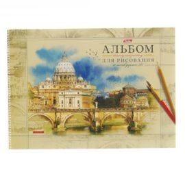 Альбом для рисования А3 40 листов на гребне