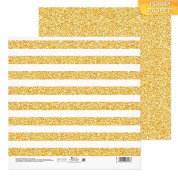 бумага для скрапбукинга золотой фон