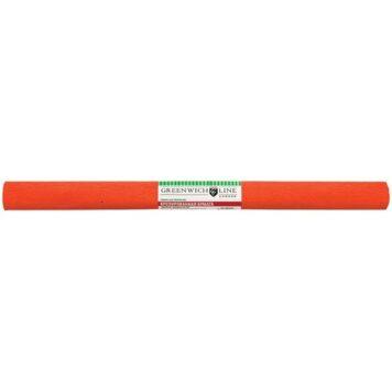 гофрированная бумага темно-оранжевая
