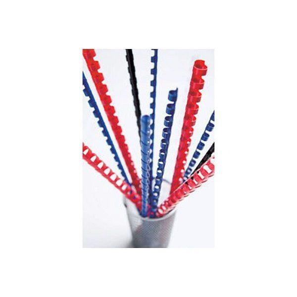 пружины для переплета синие