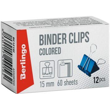 цветные зажимы для бумаг
