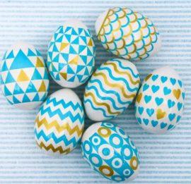 Пасхальная плёнка «Геометрия» на 7 яиц