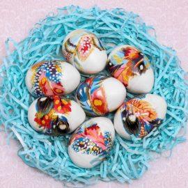 Пасхальная плёнка «Пёрышки» на 7 яиц