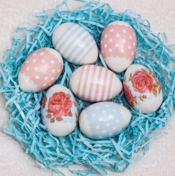 Пасхальная термоусадочная плёнка «Нежность», на 7 яиц