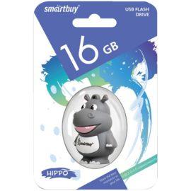 """Память Smart Buy """"Wild series"""" Бегемот 16GB"""