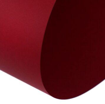 Картон темно-красный 650*500 мм, Sadipal Sirio, 170 г/м2