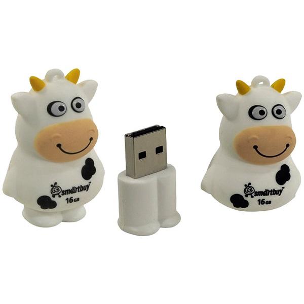 "Флешка Smart Buy ""Коровка"" 16GB, USB 2.0"