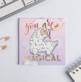 """Блокнот """"You are Magical"""" 10х10, 16 листов"""