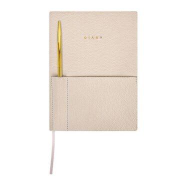 Ежедневник А5 недатир. 80 л., с ручкой, Lorex