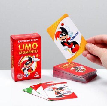 Настольная игра «UMOmomento. Быстро, весело, легко!»