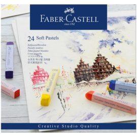 """Пастель Faber-Castell """"Soft pastels"""", 24 цв."""
