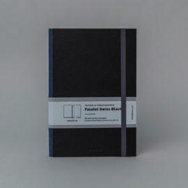 Скетчбук Falafel А5 Swiss Black, гибкий переплет