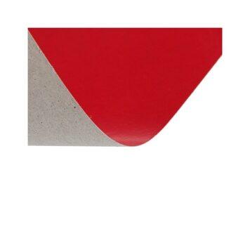 Картон красный односторонний А2, 220 гр.