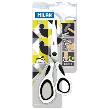 """Ножницы Milan """"Soft"""" 20,5см, эргономичные ручки"""