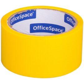 Клейкая лента упаковочная 48мм*40м, желтая